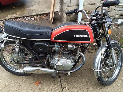 Honda : CB 1974 honda cb 200 t 3600 miles