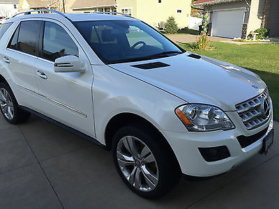 Mercedes-Benz : M-Class ML 2011 mercedes benz ml 350 4 matic beautiful diamond white