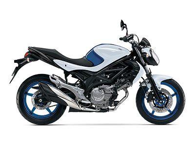 Suzuki : SV 2015 suzuki sfv 650 blue white
