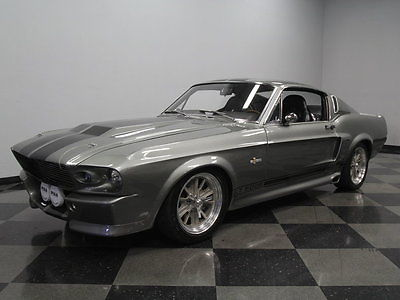 Shelby : GT500 Eleanor FULL RESTORATION, 460 V8, 5-SPEED, PWR WIN, A/C, 4 WHL DISCS, FORD 9