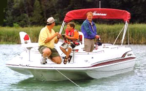 2001 HURRICANE BOATS FunDeck GS 201 Outboard