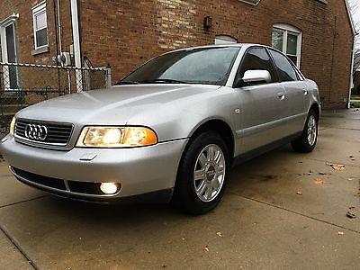Audi : A4 1.8T 2001 audi a 4 1.8 t silver super clean 5 mt manual