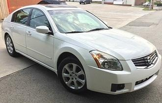 LOOK-2008 Nissan Maxima SL. Only Leather interior