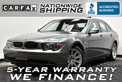 BMW : 7-Series 745i 43 k only carfax texas vehicle 5 year warranty nationwide shipping