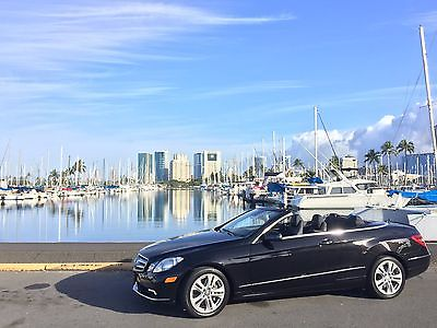 Mercedes-Benz : E-Class E350, 2D CONVERTIBLE, HEATED SEATS,NAVI,BACK UP CAMERA 2011 mercedes benz e 350 convertible low mileage full options like new e class