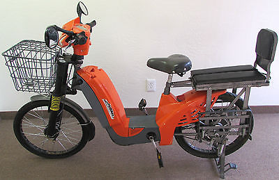 Other Makes : HiBikes HyBikes Alkaline Low Step Electric Bike Scooter * Racks & Basket ** AWESOME **
