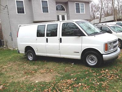 Chevrolet : Express 2001 Cargo 1500 Van - 6 Doors 2001 chevrolet express van 1500