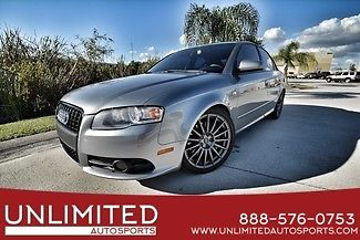 Audi : A4 2.0T 2007 gray 2.0 t s line 6 speed