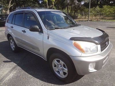 Toyota : RAV4 4dr Automatic 4WD 2002 rav 4 l 4 x 4 suv 1 owner extras runs looks great warranty ready to go wow