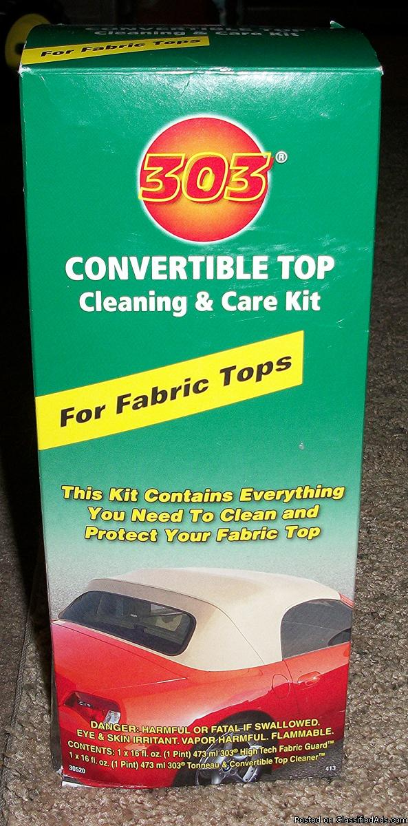 303 Convertible Fabric Top Cleaning and Care Kit