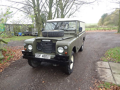 Land Rover : Defender Land Rover Series 3 Left Hand Drive Land Rover Series 3 109 1978 2.25 Gasoline Ex Military Left Hand Drive LHD Rare