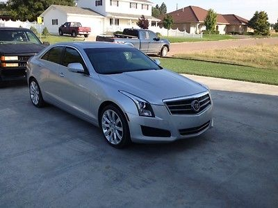 Cadillac : ATS Luxury Edition 2013 cadillac ats luxury sedan 4 door 2.5 l