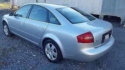 Audi : A6 Base Sedan 4-Door 2001 audi a 6 quattro base sedan 4 door 2.7 l 118 000 miles
