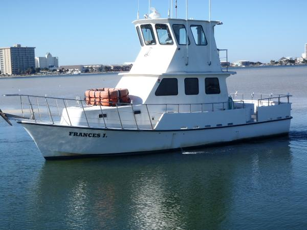 Charter boat and business boats for sale for Pensacola party boat fishing