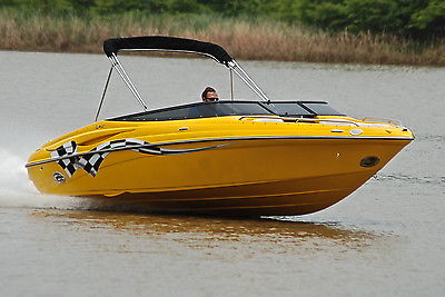 CROWNLINE 225 LPX 496 425HP *HD PICS* ONLY 220 HOURS