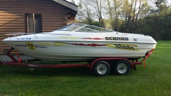 1994 Wellcraft Scarab 21 boat for sale w/Trailer in Monroe Michigan