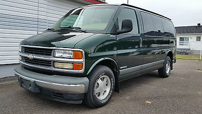 Chevrolet : Express LS 8 PASSENGER ONLY 9500 MILES EXTREMELY LOW MILES 9500 MILES 1-OWNER, ORIGINAL PAINT, MUST SEE!