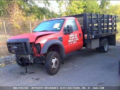 Ford : Other Pickups Base Cab & Chassis 2-Door 2008 ford f 550 super duty base cab chassis 2 door 6.8 l