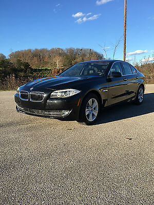 BMW : 5-Series 528I XDrive BMW 528i XDrive 2013 Black AWD LOW MILES! RUNS AND DRIVES! LOADED!