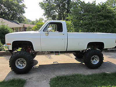 Chevrolet : C/K Pickup 2500 K20 HD 2500 Silverado 4x4 1975 1985 chevy truck 4 x 4 total rebuild 400 shop hours 30 000 spent on parts