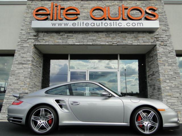 Porsche : 911 997 TURBO Sport Chrono ONLY 7k MILES GT Silver Metallic FULL LEATHER Tiptronic S SPORT PKG