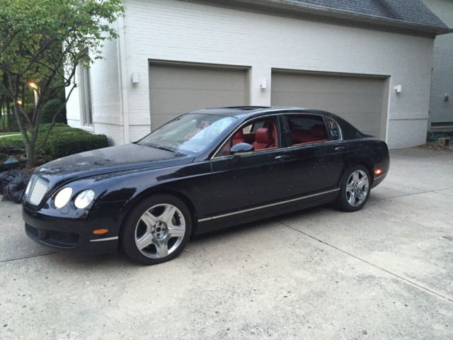 Bentley : Continental Flying Spur 4dr Sdn AWD 2006 bentley flying spur 34 k miles rebuilt title prior salvage light wrecked