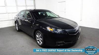 Acura : TL Base w/Tech Sedan 4-Door Automatic 6-Speed V6 3.5L 2013 acura tl tech navigation back up camera leather moon roof free shipping