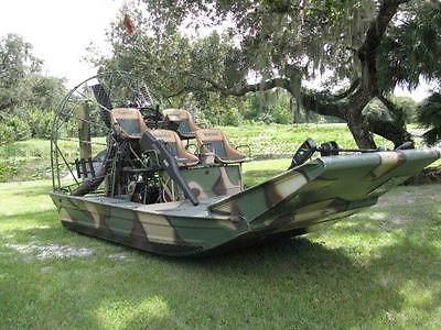 2005 DIAMONDBACK AIRBOAT - 630 H.P. MERLIN