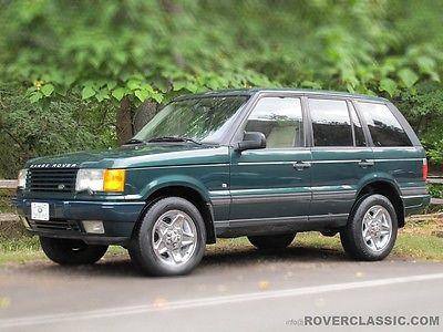 Land Rover : Range Rover HSE 4.6 KENSINGTON EDITION 1997 land rover range rover hse 4.6 l kensington edition 96 k original miles