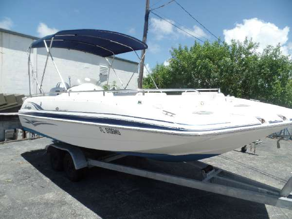 2005 HURRICANE BOATS FunDeck GS 201 OB