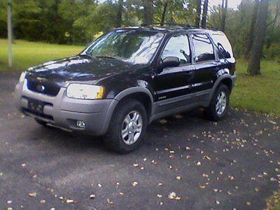 Ford : Escape 2001 ford escape xlt 4 wheel drive