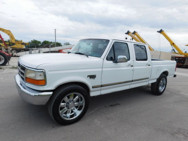 Ford : F-250 THE ORIGINAL 7.3 powerstroke diesel crew cab longbed ice cold a c