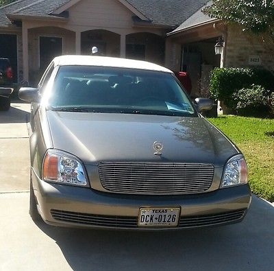 Cadillac : DeVille 2001 cadillac sedan deville excellent condition low miles fully loaded as is