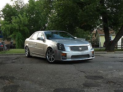 Cadillac : CTS V Sedan 4-Door 2004 cadillac cts v 400 hp ls 6