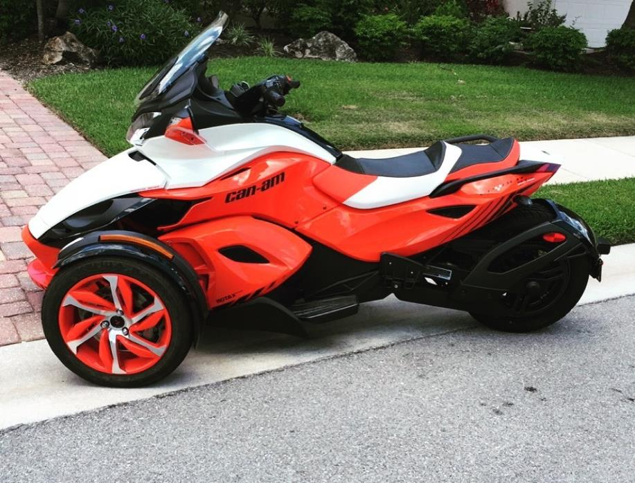 2015 Can-Am SPYDER ST-S SE5