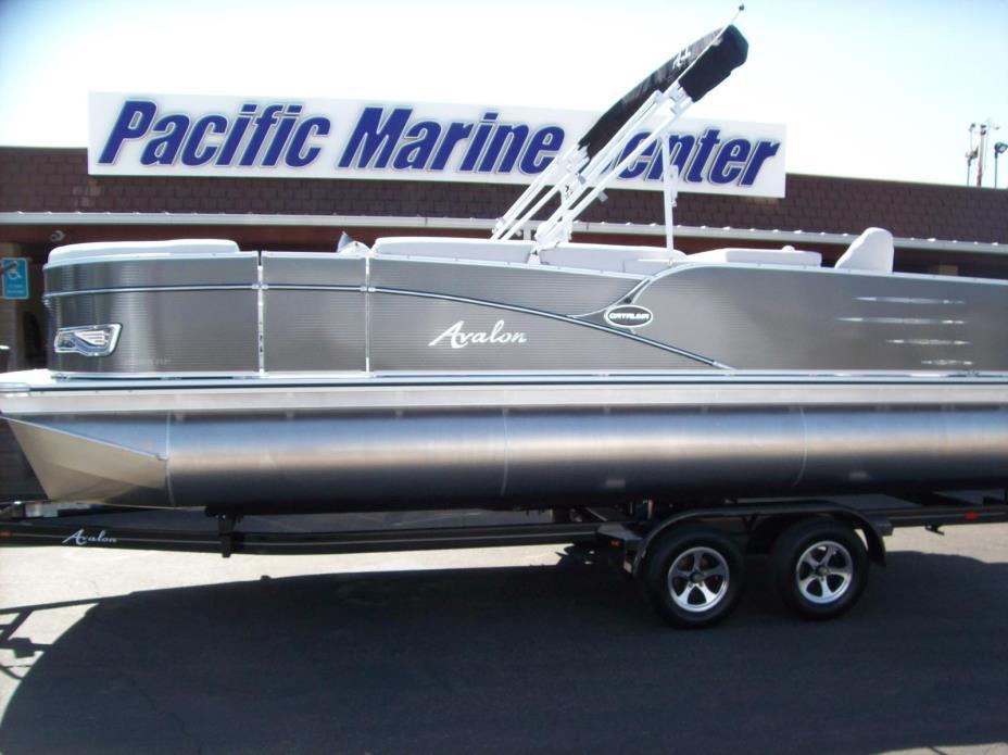2017 Avalon Catalina Rear Fish 23-Mercury 90hp