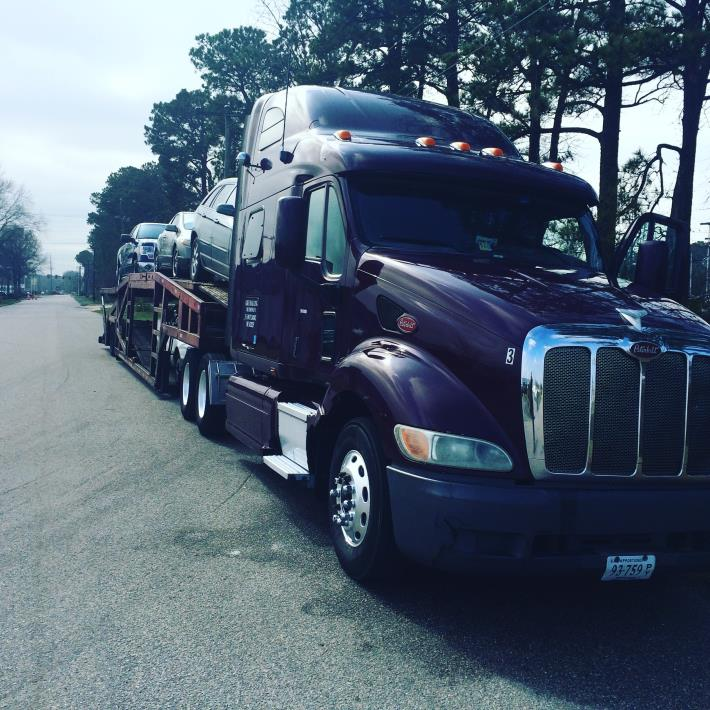 2006 Peterbilt 387 Car Carrier