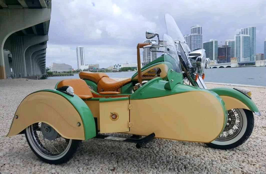 Indian Chief Sidecar Motorcycles for sale