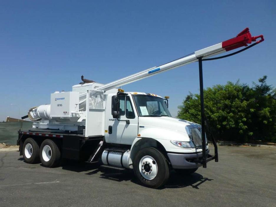 2012 International 4400 Highway Hfms Pressure Drill Digger Derrick