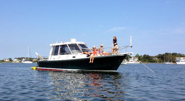 2000 Little Harbor 34 Whisperjet Express Hardtop