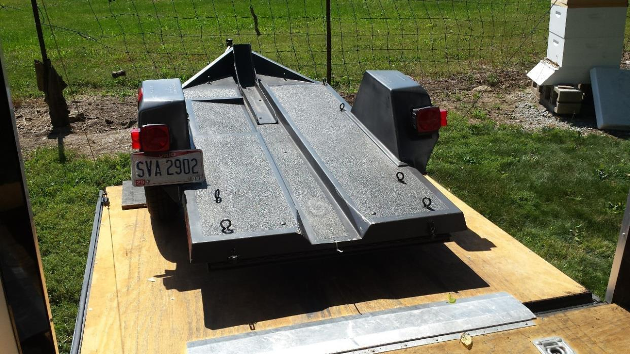 1991 Chariot MOTORCYCLE TRAILER