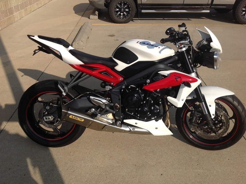 triumph street triple r motorcycles for sale in iowa. Black Bedroom Furniture Sets. Home Design Ideas