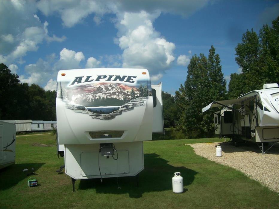 2012 Keystone Alpine 3500RE