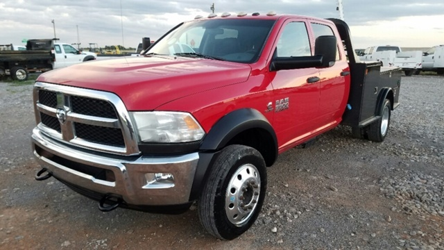 2013 Ram 5500 Hd Chassis  Flatbed Truck