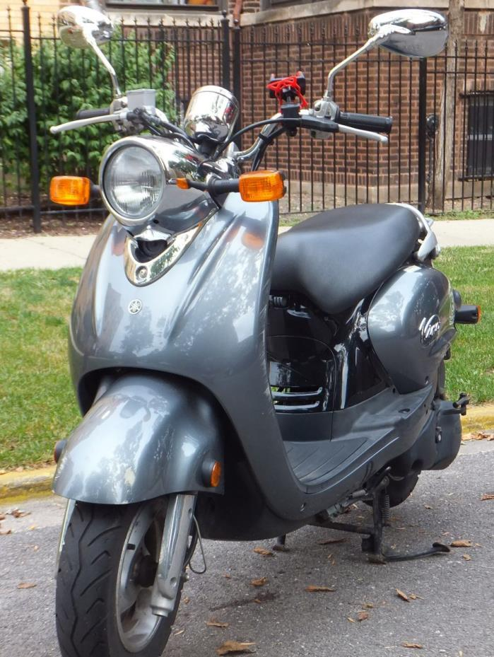 yamaha vino 125 motorcycles for sale in illinois. Black Bedroom Furniture Sets. Home Design Ideas