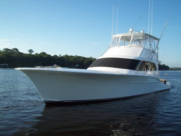 2002 Alex Willis Custom Carolina 58 Sportfisherman