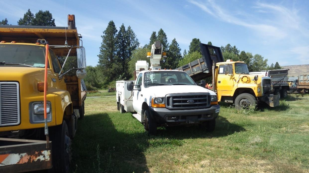 Bucket Truck for sale in Washington