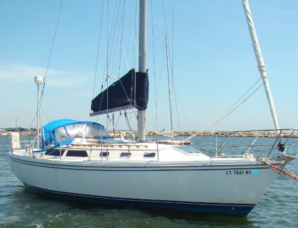 1989 Catalina 34 Tall Rig - Wing Keel
