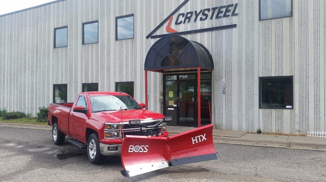 2015 Chevrolet 1500 Plow Truck - Spreader Truck