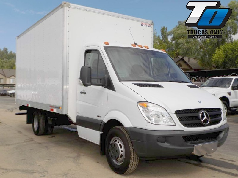 2012 Mercedes-Benz Sprinter 3500 Box Truck - Straight Truck